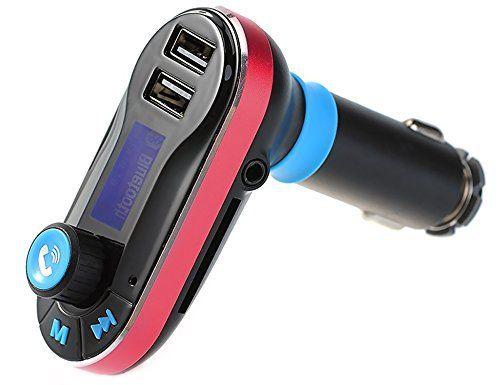 Act Transmetteur FM Lecteur mp3Bluetooth mains libres voiture Kit Chargeur pour iPhone se 6S 6S Plus iPhone 66Plus Samsung Galaxy S6S6…