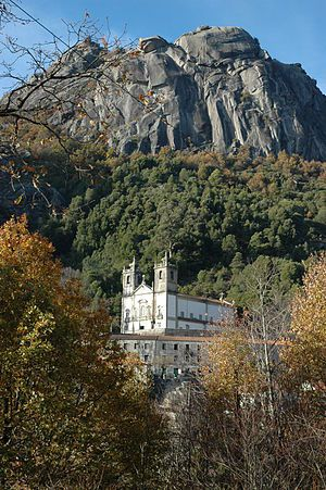 Santuário de Nossa Senhora da Peneda – Wikipédia, a enciclopédia livre