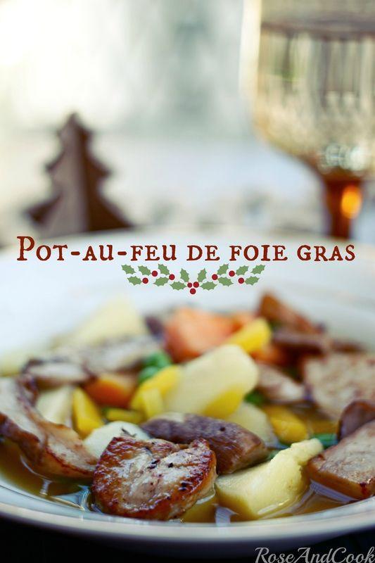 pot au feu de foie gras facile