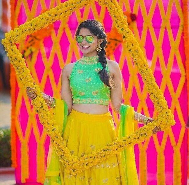 new bridal mehndi photo shoot