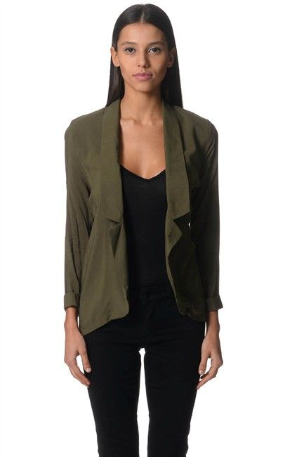 Ozsale - Blazer Whirl Wind Olive by Jorge was $69.95 and is now $20.00.