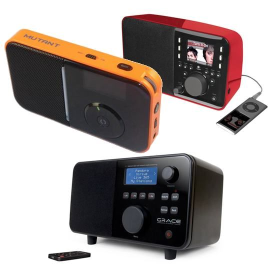 Three Small, Portable & Stylish Internet Radios