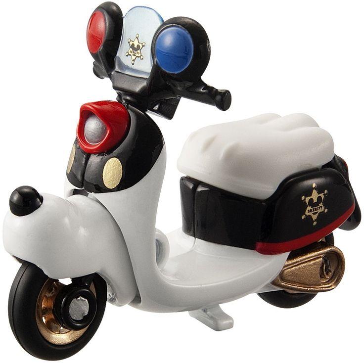 Tomica Disney Motors DM-04 Chim Chim Patrol Bike Mickey Mouse สินค้าลิขสิทธิ์แท้ นำเข้าจากประเทศญี่ปุ่น เหมาะสำหรับเด็กอายุ 3 ปีขึ้นไป