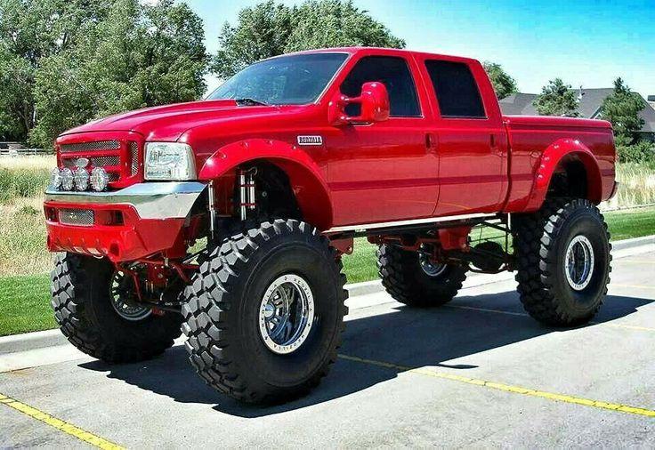 Best 25 big ford trucks ideas on pinterest - Bac a semis ...
