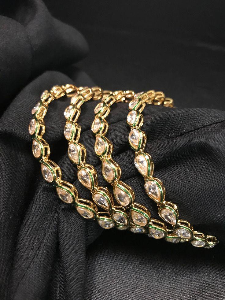 jewelry Indian Kundan Indian Jewelry Indian Bangles