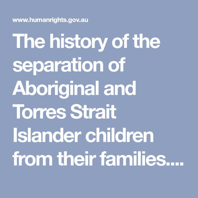 The history of the separation of Aboriginal and Torres Strait Islander children from their families. This timeline is a support to 'The Stolen Generations' teachers resource for years 9 and 10 National Curriculum History. This timeline details the history of forcible removal of Indigenous children from their families, individuals and groups who supported the movement for indigenous recognition and rights and achievements of indigenous peoples. Information is primarily taken from the findings…