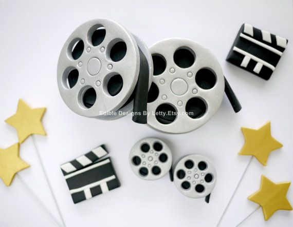 Edible Fondant Movie Themed Cake Topper by EdibleDesignsByLetty