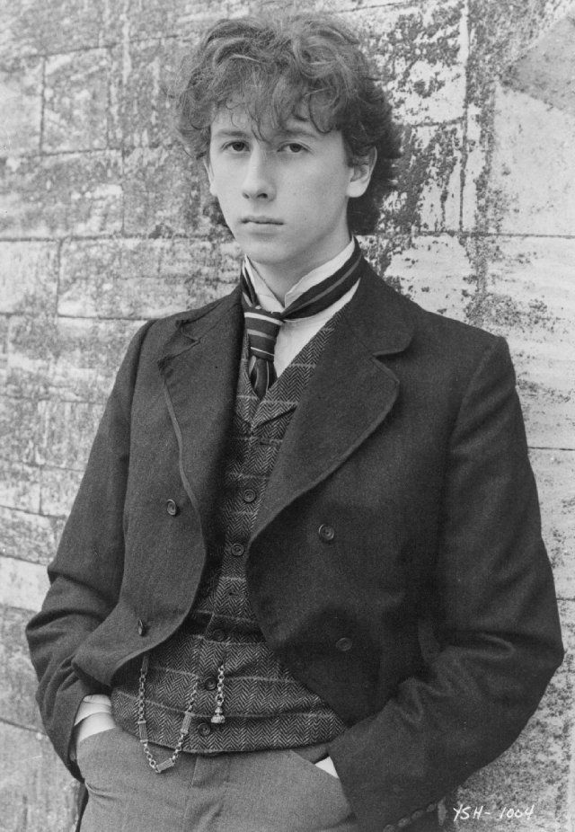 Still of Nicholas Rowe in Young Sherlock Holmes.  Super adorable