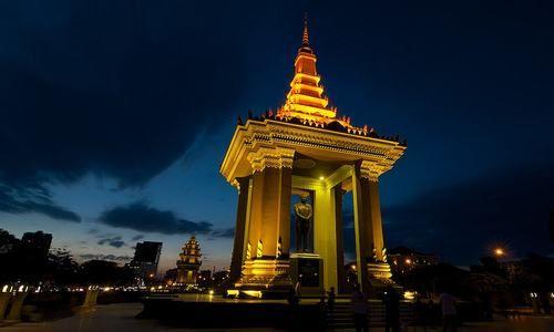 Capital de Nom Pen, Camboya