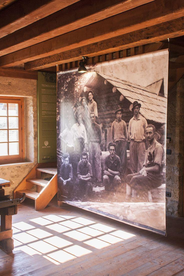Graphica. – Segheria Aplis Ovaro: Museo del legno e della segheria veneziana di Aplis - Stampa banner monofacciale