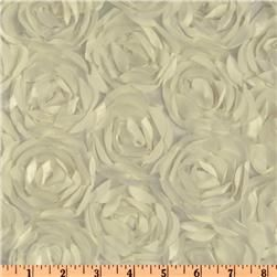 Loveable Satin Ribbon Rosette Ivory  $14.98 yard - BEAUTIFUL! :)