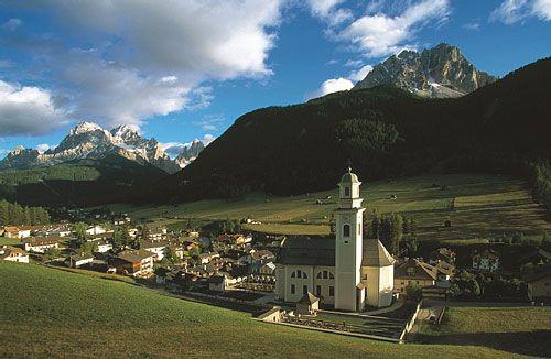 Alta Pusteria in Dobbiaco, Trentino - Alto Adige
