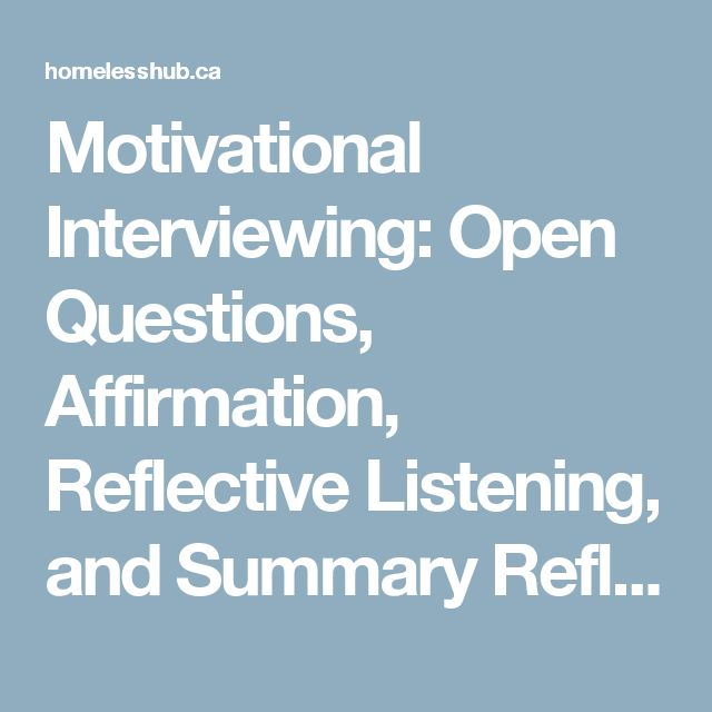 motivational interview essay A job interview is the first big step in your career you're not just  at ernst &  young, for example, a full interview  motivation or good communication skills,  for.