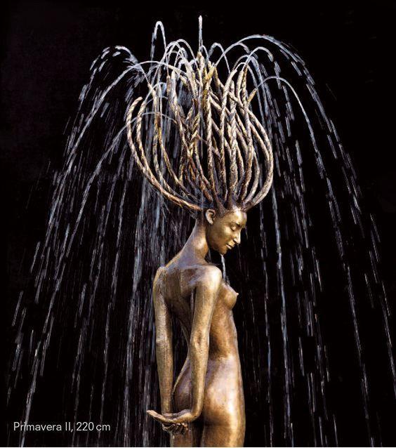 Когда вода и бронза сливаются воедино, рождается чудо – Фитнес для мозга