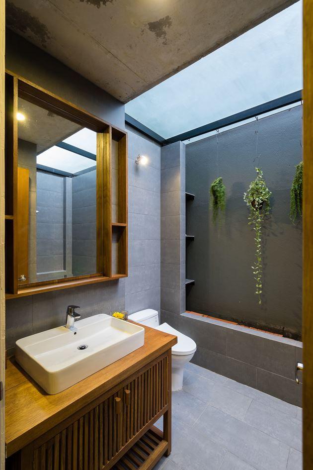 NDC House, #HoChiMinh | Tropical Space #architecture #interiordesign #bathroom