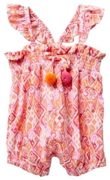 0d8857857e4 Jessica Simpson Printed Romper (Baby Girls 0-9M)  babygirl