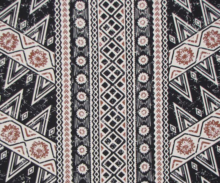 Vintage Looking Tapa Hawaiian Fabric. Check it out at ...