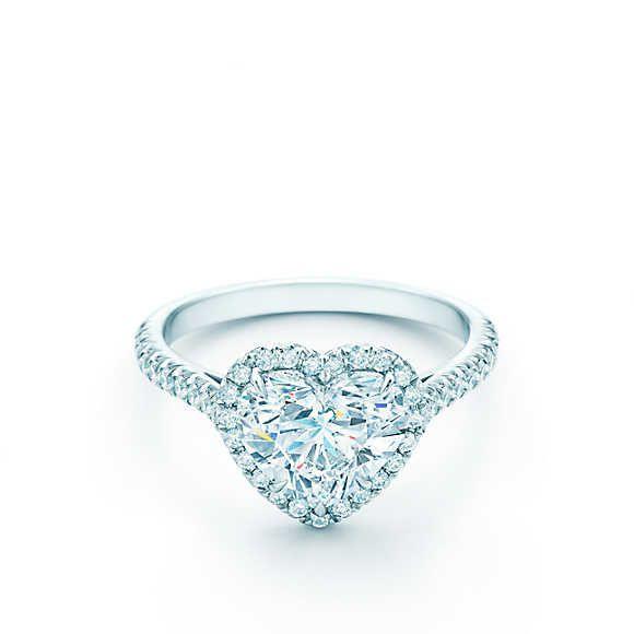 Anello di Fidanzamento Tiffany a forma di cuore, per i più romantici! <3 | Tiffany & Co.