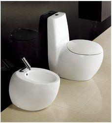 One Piece Dual Flush Modern Bathroom Toilet - Cerchio