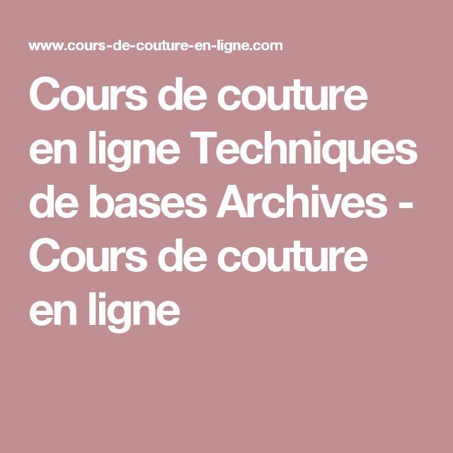 Très 482 best Couture - Techniques images on Pinterest | Cook, Custom  TD47