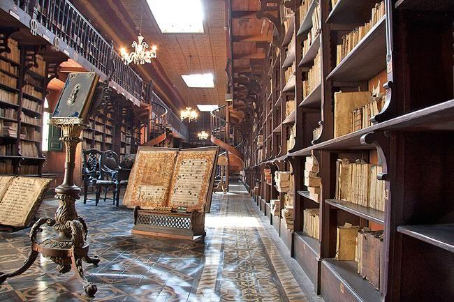 Libri antichi e codici manoscritti conservati nella Biblioteca del Convento di San Francesco, Lima