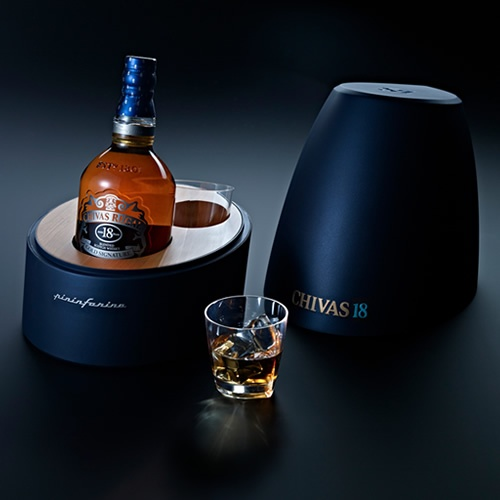 Chivas Regal and famed Italian design house Pininfarina create stunning collectors editions featuring Chivas 18 Mascherone