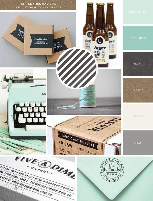 Brand Launch – Little Free Radical | inspiration photo credits on www.saltedink.com | #brand #mood #inspiration #branding