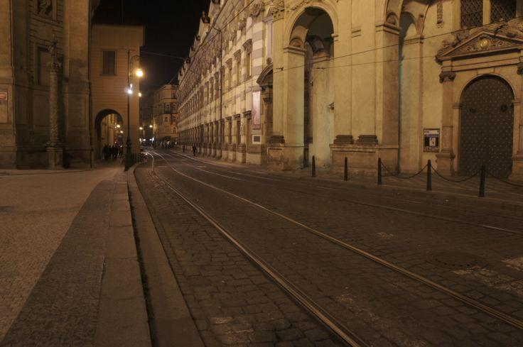 night walk in streets of prague^october 2012