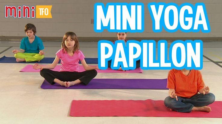 Mini Yoga : Le papillon
