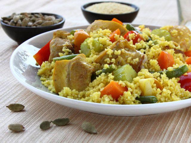 Cous cous con pollo e verdure 1 5 ingredienti per 4 for Cucinare per 300 persone