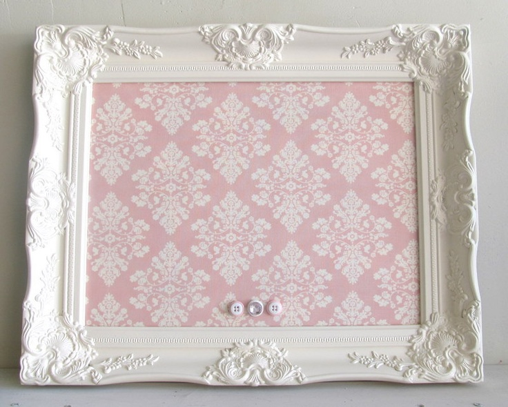 Magnet board magnetic board shabby chic nursery wall decor for Bougeoir shabby chic