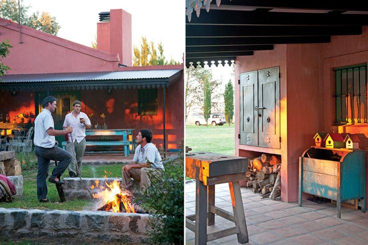 Una casa con estilo campo - Casas con estilo ...