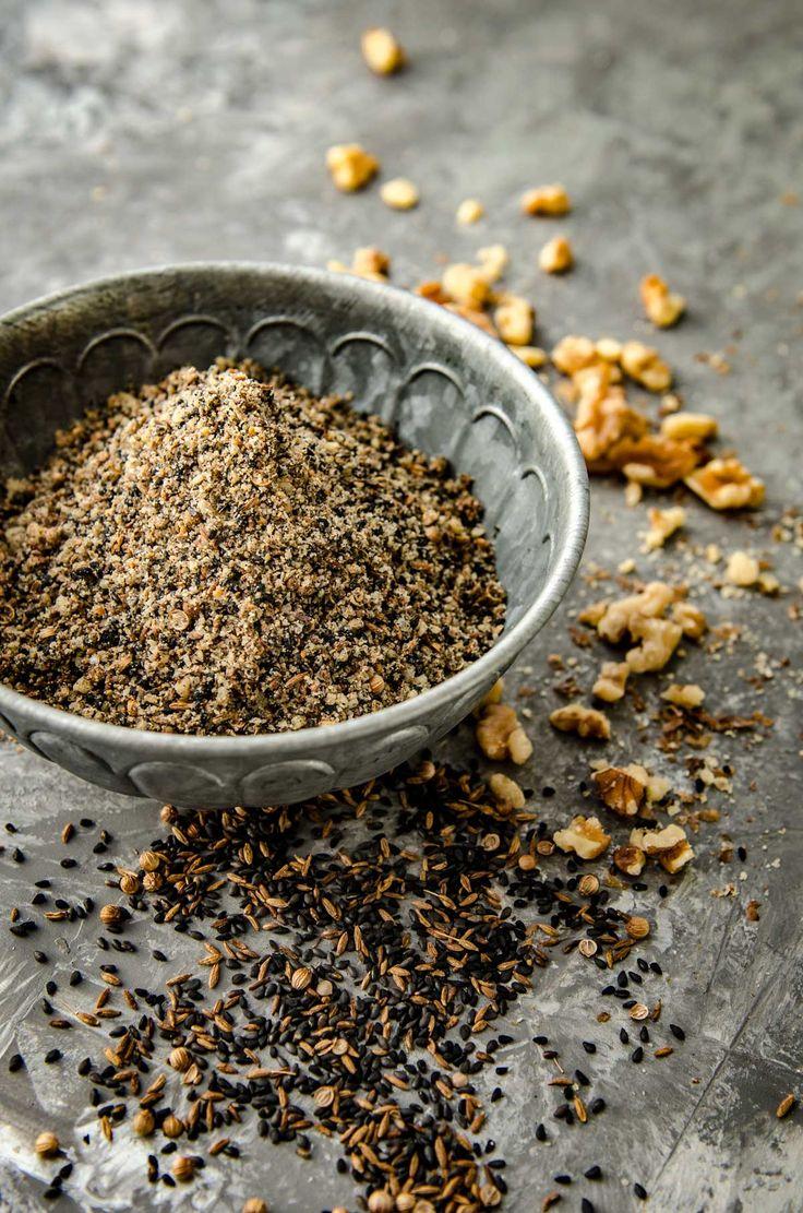 Walnut and Black Sesame Homemade Dukkah | Chew Town Food Blog