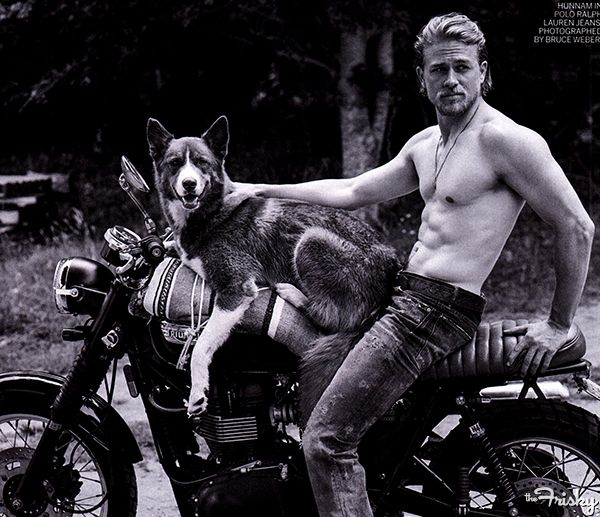 Charlie Hunnam Looks Both Ridiculous And Super Hot In Vogue - The Frisky thefrisky.com