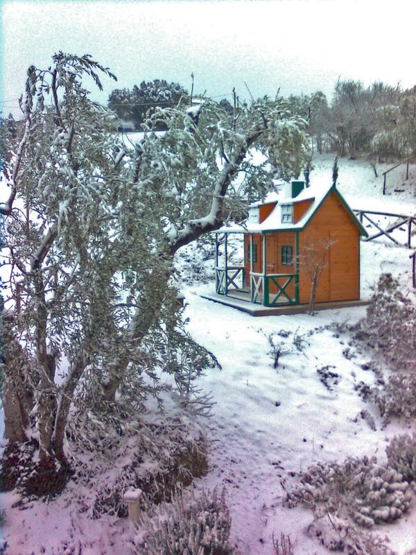 POSADA playhouse skiing in Italy.