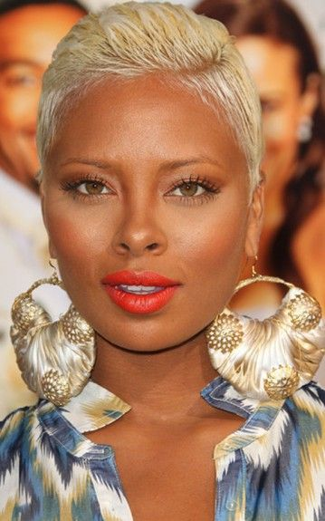 Eva Marcille- These earrings are gorg!