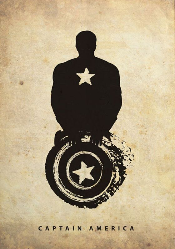 Posters vintage de super-heróis - Geekverse