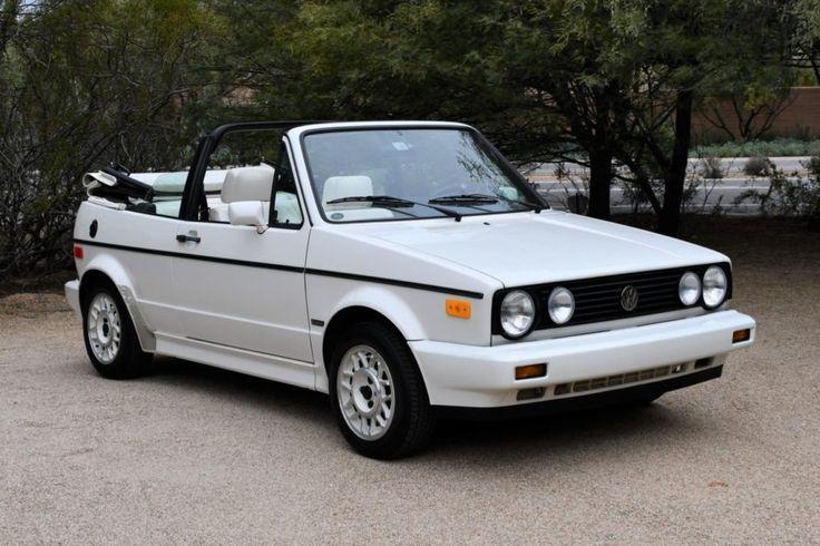 27k Mile 1989 Volkswagen Cabriolet Boutique Edition In 2020 Vw Cabriolet Cabriolets Volkswagen Convertible