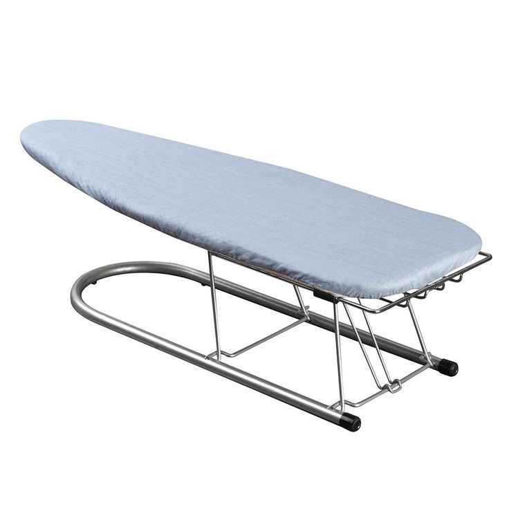 Household Essentials Tabletop Ironing Board Cover and Pad, Blue
