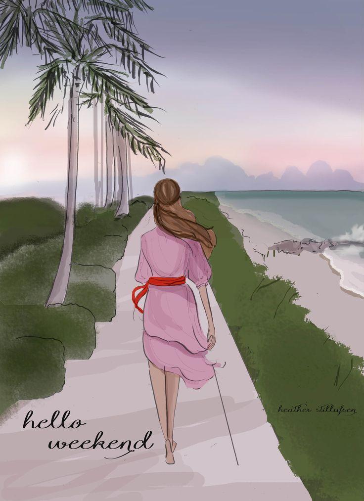 Heather Stillufsen. Weekend. Palm Beach.