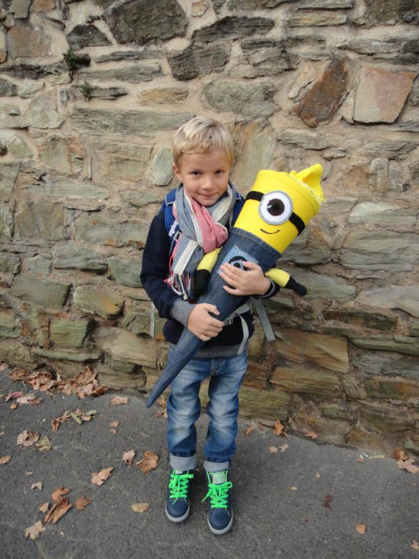Minion Schultüte First day of school