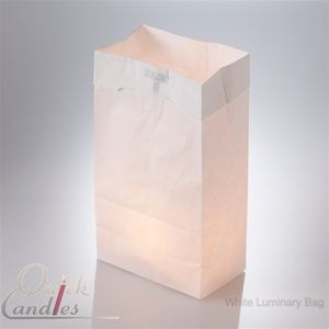 Set of 500 Luminary Bags in white or brown and 500 Tealight candles $99.99.   Perfect for any large event to add Wow as you enter the venue!