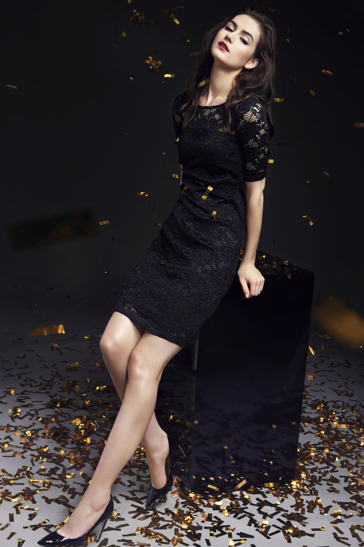 Taranko Christmas Evening lace party dress