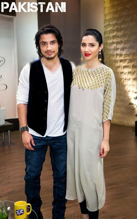 leather pants and studded kurta! And Ali zafar! Love it