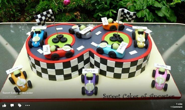 8 year-old birthday racetrack