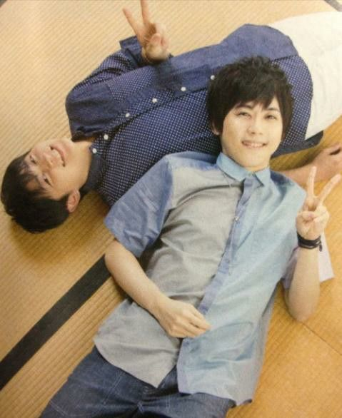 Hiro Shimono & Yuki Kaji. Two of the cutest voices