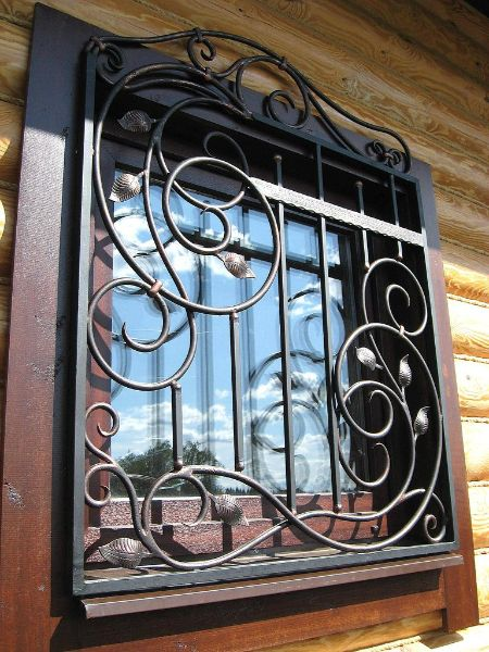 wrought iron in Tyumenii - by Kovka in Russia - art nouveau style