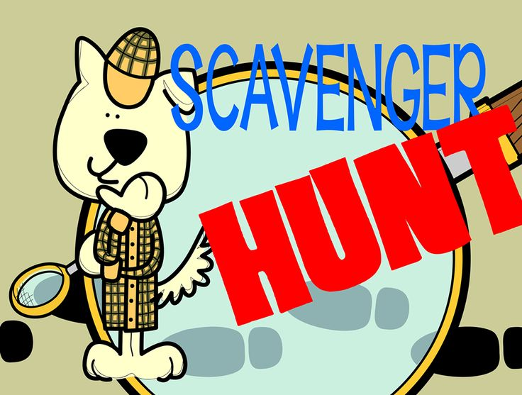 clip art scavenger hunt today on a sketchy guy s facebook page get rh pinterest com photo scavenger hunt clipart nature scavenger hunt clipart