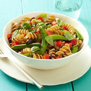 Healthy Pasta Salad Recipes | Diabetic Living Online  Nothing says delicious and convenient like a fast, fresh, and easy pasta salad. And with so many variations—we have diabetes-friendly recipes for hot and cold pasta salads, meatless and chicken pasta salads—it's a foolproof main dish or side dish to bring to any backyard barbecue or potluck.
