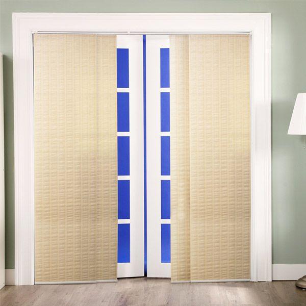 provence maple sliding door curtain panel set
